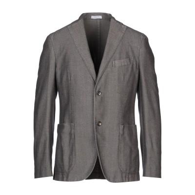 ボリオリ BOGLIOLI テーラードジャケット ダークブラウン 48 コットン 78% / ポリエステル 22% テーラードジャケット