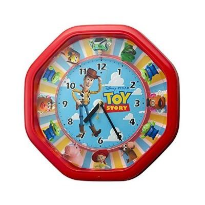 リズム(RHYTHM) ディズニー トイ・ストーリー 掛け時計 からくり時計 37x37x9.3cm TOY STORYソング4曲入り 4MH440M