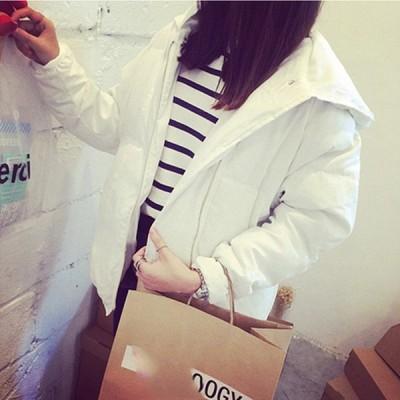 中綿コート ショート丈 レディース ダウン風ジャケット 通勤 大きいサイズ フード付き 防寒 冬 レディース 送料無料