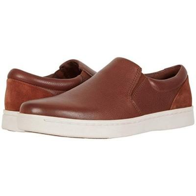 クラークス Kitna Free メンズ スニーカー 靴 シューズ Mahogany Leather