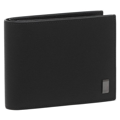 ダンヒル 折財布 メンズ DUNHILL 19F2F32SG001R ブラック ガンメタル