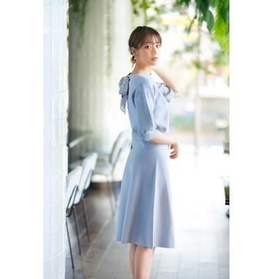 PROPORTION BODY DRESSING/プロポーションボディドレッシング  ◆スカーフ付フレアニットセットアップ ミント 3