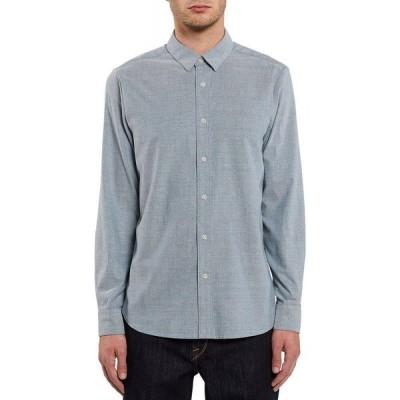 ボルコム Volcom メンズ シャツ ワイシャツ トップス oxford stretch long-sleeve shirt Rincon Blue