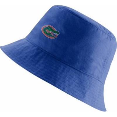 ナイキ メンズ 帽子 アクセサリー Nike Men's Florida Gators Blue Core Bucket Hat -