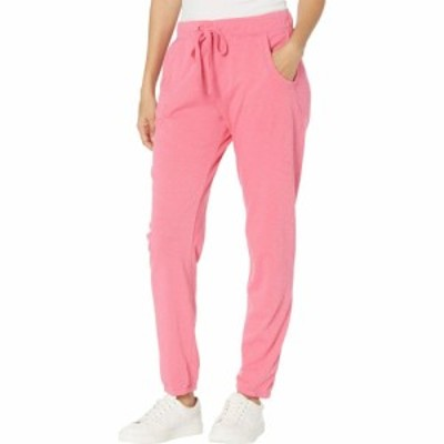 ボビ ロサンゼルス bobi Los Angeles レディース ボトムス・パンツ Sustainable Slub Terry Drawstring Pants Hot Pink
