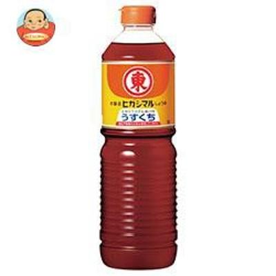 送料無料  ヒガシマル醤油  うすくちしょうゆ  1Lペットボトル×15本入