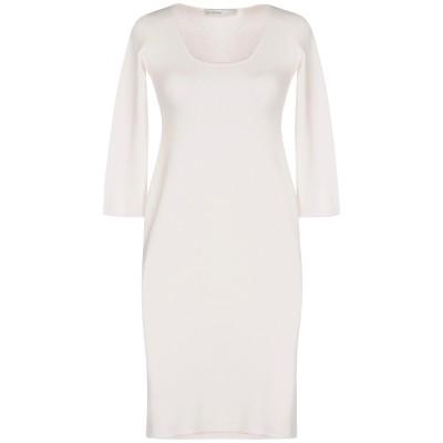 ジェントリーポルトフィーノ GENTRYPORTOFINO ミニワンピース&ドレス ホワイト 40 コットン 85% / ポリウレタン 15% ミニ