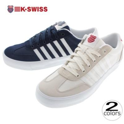 ケースイス K SWISS スニーカー アディソン バルカ ADDISON VULC 75616 マシュマロ/バイキングレッド(191)ドレスブルー/ホワイト(462)