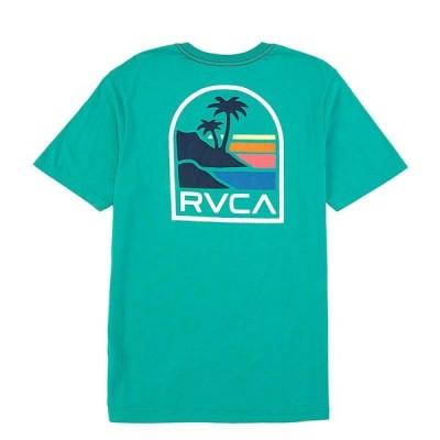 ルーカ メンズ Tシャツ トップス Regular Fit Short-Sleeve Vista Graphic T-Shirt Vintage Green