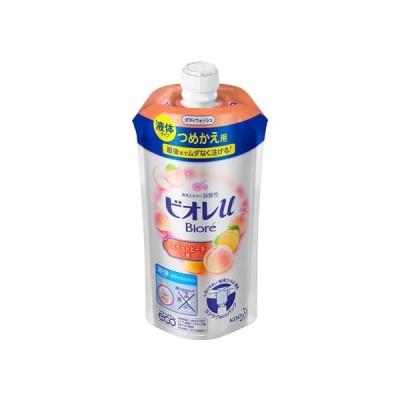 ビオレu スイートピーチの香り つめかえ用 340ml KAO