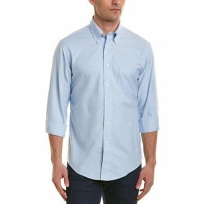 brooks ブルックス ファッション ドレス Brooks Brothers Regent Fit Woven Shirt L Blue