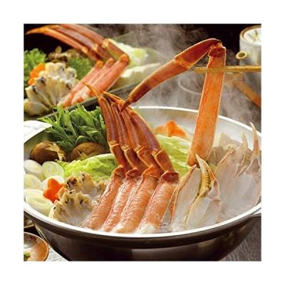 食の達人森源商店 カット済特大ずわい蟹しゃぶ・かに鍋・焼き蟹セット1.2kg 冷凍便 prmギフト