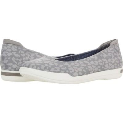 ドクター ショール Dr. Scholl's レディース スリッポン・フラット シューズ・靴 Rise Shine Soft Grey