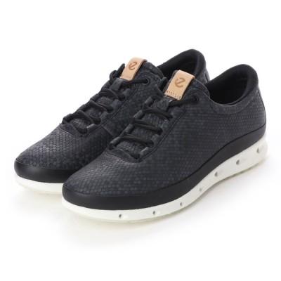 エコー ECCO Womens COOL W Shoe (BLACK/MAGNET/BLACK/POWDER)