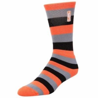 For Bare Feet フォー ベア フィート スポーツ用品  NBA Logo Womens Melon Pro Stripe Socks