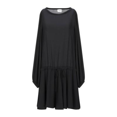 メルシー ..,MERCI ミニワンピース&ドレス ブラック 38 ポリエステル 100% ミニワンピース&ドレス