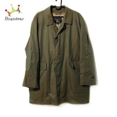 バーバリーズ Burberry's コート サイズM メンズ - カーキ 長袖/ネーム刺繍/秋/冬 新着 20210602