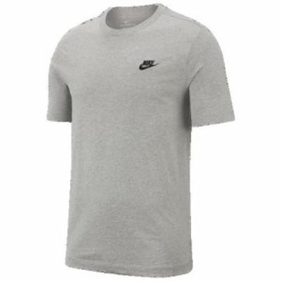 (取寄)ナイキ メンズ エンブロイダード フューチュラ Tシャツ Nike Men's Embroidered Futura T-Shirt Dark Grey Heather Black