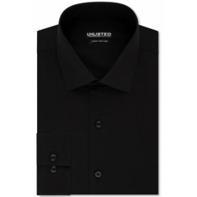 Kenneth Cole ケネスコール ファッション ドレス Kenneth Cole Mens Black Size Medium M Slim Fit Button Up Dress Shirt