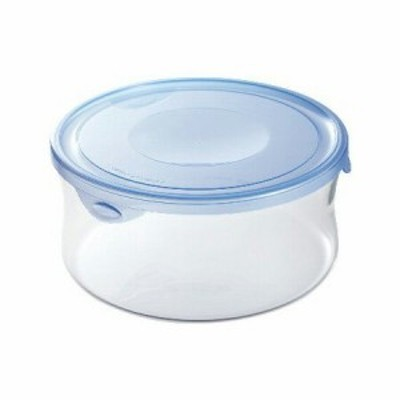 Iwaki NEWパック&レンジ 1.3l アクアブルー KBT7403BLN 食品保存容器 収納 透明 電子レンジ AGCテク