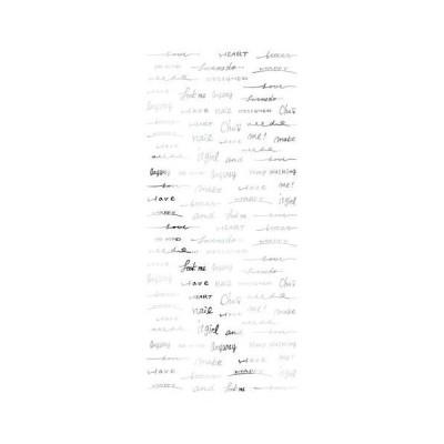TSUMEKIRA(ツメキラ) ネイルシール SAICOプロデュース3 Freehand words シルバー SG-SAI-103 キャンセル返品不可 【出荷グループ A】他の商品と同梱制限有