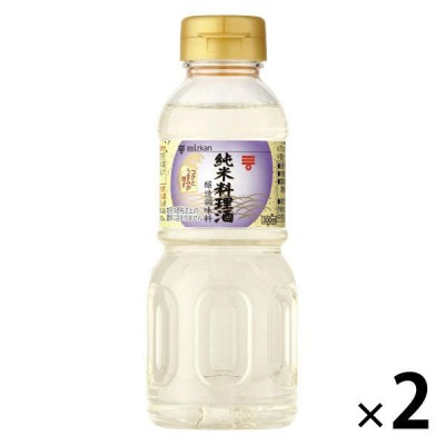 ミツカンミツカン 純米料理酒 300ml 2本
