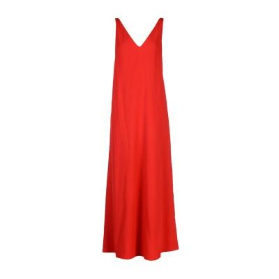 ヴァレンティノ VALENTINO ロングワンピース&ドレス レッド 40 ウール 100% ロングワンピース&ドレス