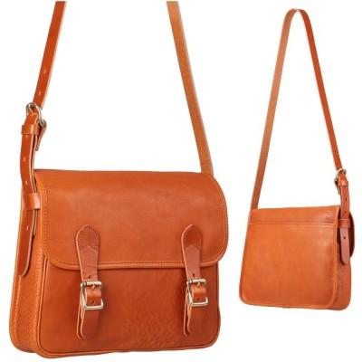【カバンのセレクション】 スロウ ボーノ ショルダーバッグ メンズ レディース 本革 SLOW bono 49s144g ユニセックス キャメル フリー Bag&Luggage SELECTION