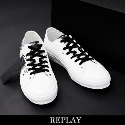 REPLAY(リプレイ) スニーカー ホワイト GMV98000C0014T