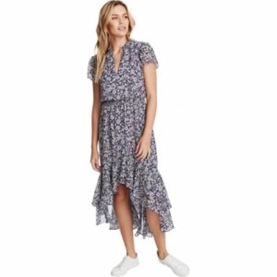ワンステート 1.STATE レディース ワンピース ワンピース・ドレス Short Sleeve Wildflower Bouquet Mock Dress Moonshade Multi