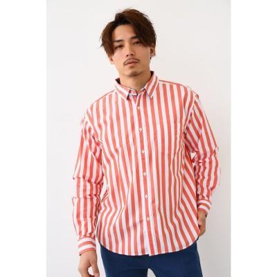 バックプリントシャツ 柄ORG5