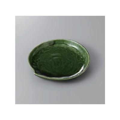 大皿 盛皿 織部リーフケーキ皿 陶器 器 美濃焼 日本製