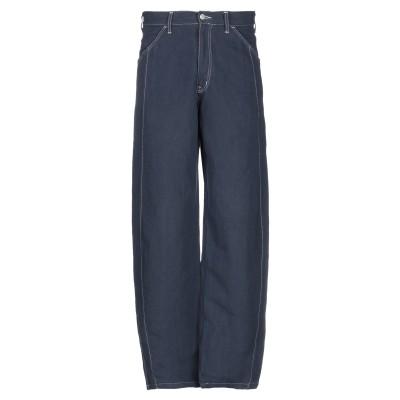 アルマーニ ジーンズ ARMANI JEANS パンツ ブルー 48 コットン 60% / 指定外繊維(ヘンプ) 40% パンツ
