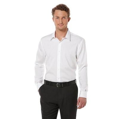 ペリーエリス メンズ シャツ トップス Big & Tall Non-Iron Long-Sleeve Woven Shirt