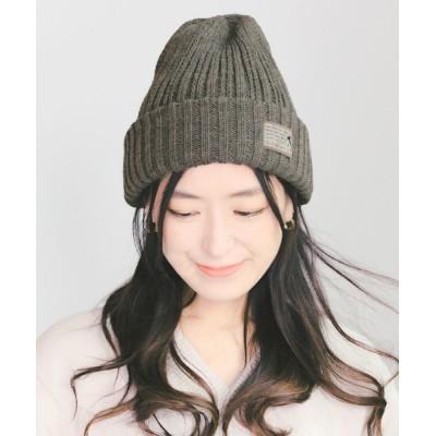 14+(ICHIYON PLUS) / イタリア糸タグ付ニット帽 / knitcap WOMEN 帽子 > ニットキャップ/ビーニー
