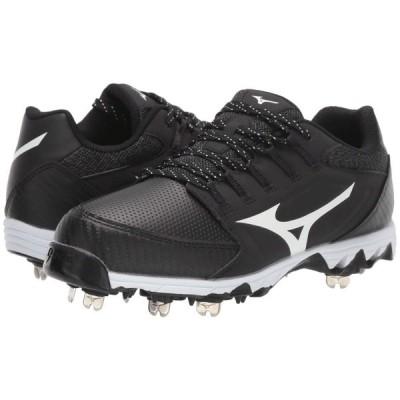 ミズノ Mizuno レディース サッカー シューズ・靴 9-Spike Swift 6 Black/White