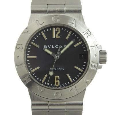 超美品 ブルガリ BVLGARI ブルガリブルガリ 腕時計 BB33SS 自動巻き 磨き済 箱・ギャラ付 余駒4個 腕回り約16.5cm メンズ W260359