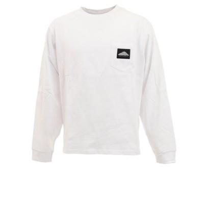 EMBRO クルーネック長袖Tシャツ MS0-000-200026 WHT