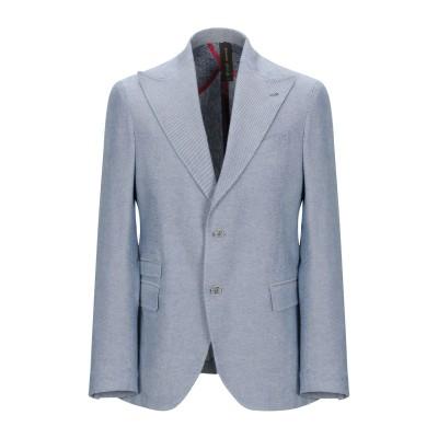 MAISON BRAVE テーラードジャケット ブルー 50 コットン 100% テーラードジャケット