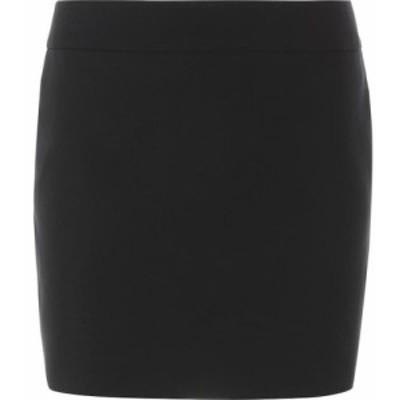 イヴ サンローラン Saint Laurent レディース ミニスカート スカート wool miniskirt Black