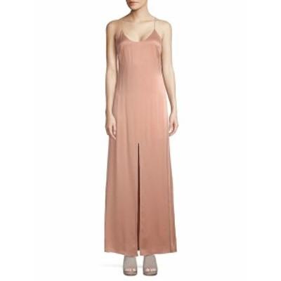アリス+オリビア レディース ワンピース Elza Silk Maxi Dress