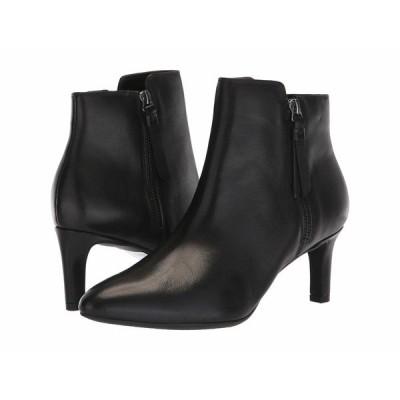 クラークス ブーツ&レインブーツ シューズ レディース Calla Blossom Black Leather