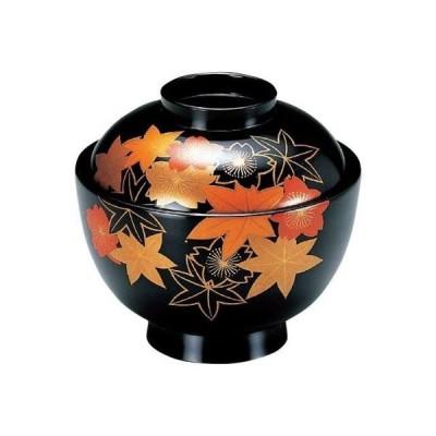 3.8寸京型椀 黒新春秋