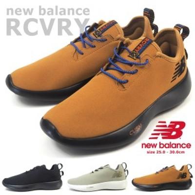 【送料無料】 ニューバランス new balance スリッポンスニーカー RCVRY AB1/GO1/TB1 メンズ