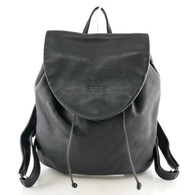 送料無料 ブリー BREE リュックサック バックパック デイパック バッグ 鞄 レザー 本革 黒 ブラック系 レディース メンズ
