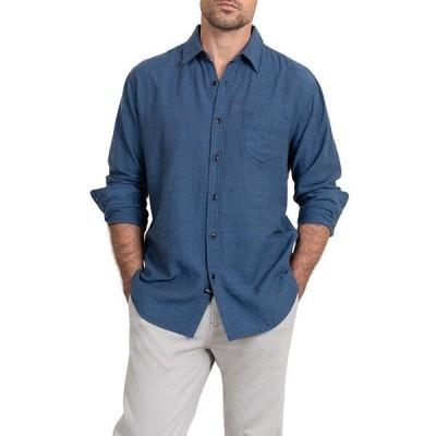 レイルズ メンズ シャツ トップス Wyatt Solid Textured Shirt