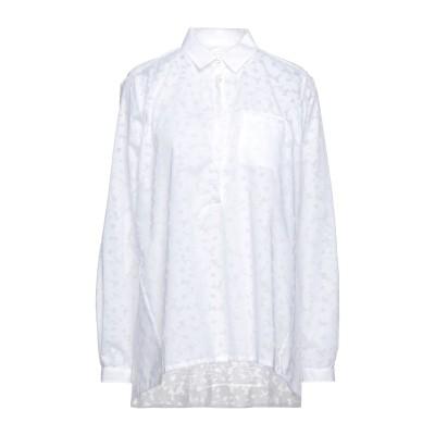 XACUS シャツ ホワイト 48 コットン 50% / ポリエステル 50% シャツ