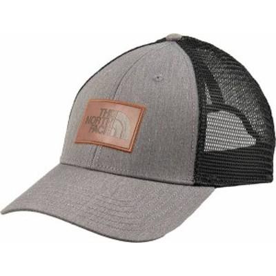 ノースフェイス メンズ 帽子 アクセサリー The North Face Men's Leather Dome Trucker Hat Tnf Medium Grey Heather