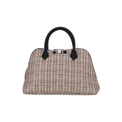 SAVE MY BAG ハンドバッグ サンド ポリエーテル 50% / ポリエステル 40% / ポリウレタン 10% ハンドバッグ