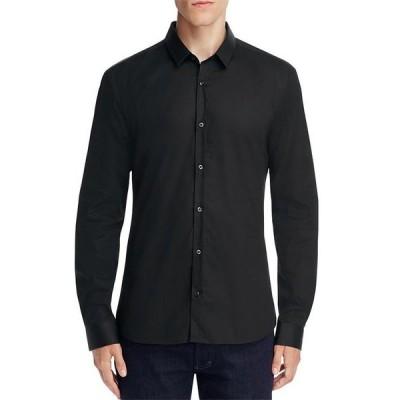フューゴ メンズ シャツ トップス Ero Extra-Slim Fit Button-Down Shirt